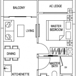 Kensington Square Floor Plans 1 Bedroom